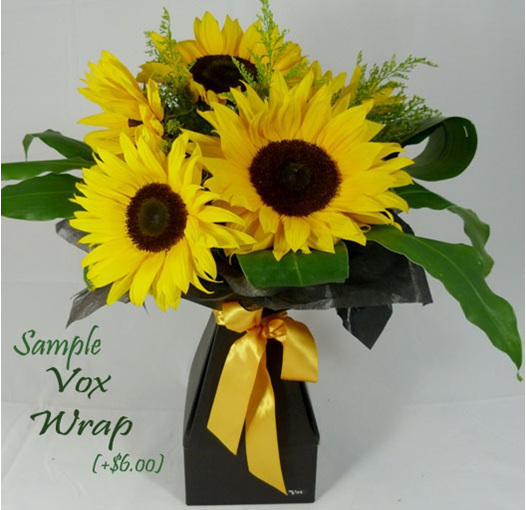 sunflower vox delivered daily from flowerise