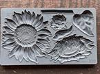 Sunflowers IOD Decor Mould