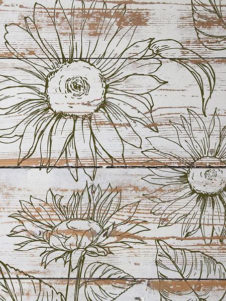 Sunflowers IOD Decor Stamp (2 page)