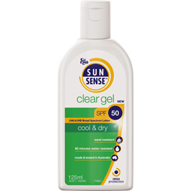 Sunsense Clear Gel SPF50+ 125ml