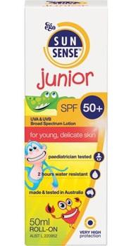 Sunsense Junior SPF50+ Lotion Roll On 50ml