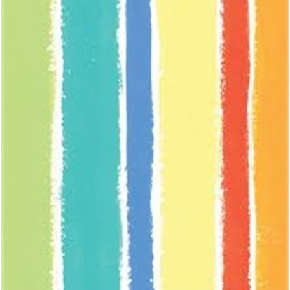 Sunshine Stripes Beverage Napkins