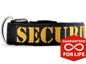 Supatuff Dog Collar with Security Embroidery by Rogue Royalty