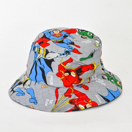 Super Hero Bucket Hat - Child size large
