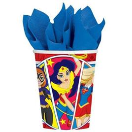 Super hero girls cups x 8