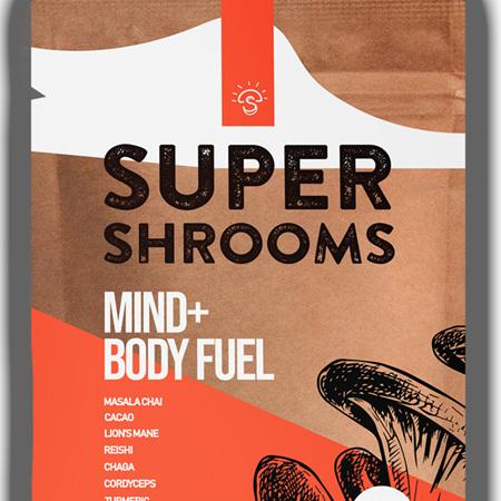 Super Shrooms Mind & Body Fuel - 120g