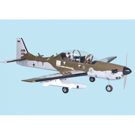 Super Tucano .91 With Retracts., by Seagull Models. 0.17m3