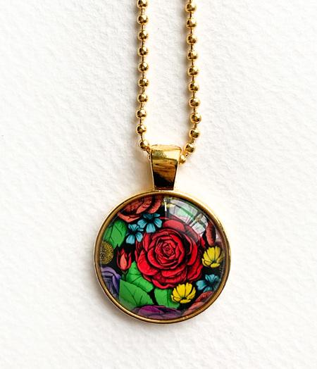 Superbloom Pendant Necklace - gold