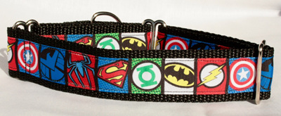 Superheroes Collar
