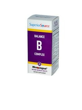 Superior Source Balance B Complex, Microlingual