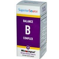 Superior Source Balance B Complex, Microlingual