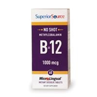 Superior Source Microlingual Methycobalamin B-12, 1000mcg