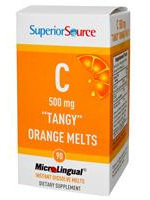 Superior Source Vitamin C, Microlingual, 500mg, 90 Tabs