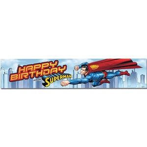Superman Party Banner
