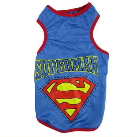 Superman Singlet - Blue