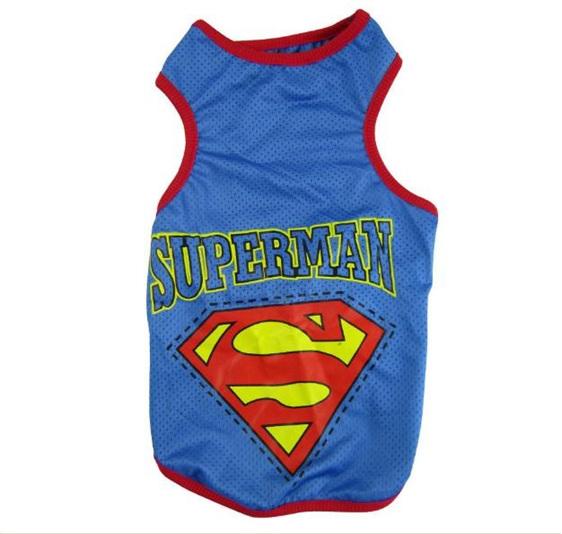 Superman singlet blue