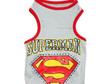 superman singlet grey