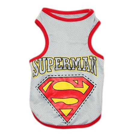 Superman Singlet - Grey