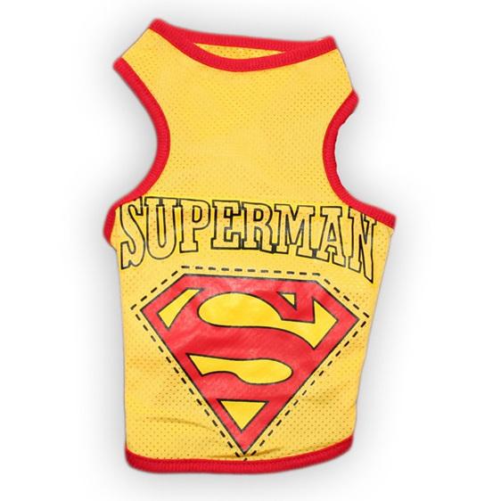 superman singlet yellow