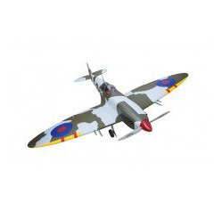 Supermarine Spitfire 55cc (matte finished), Span 219.5cm, Engine 50cc-55cc 0.40m3 by Seagull Models