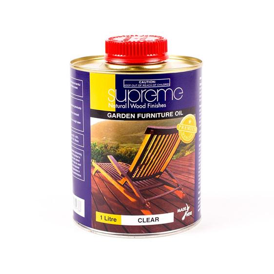 supreme garden furniture oil - new zealand made
