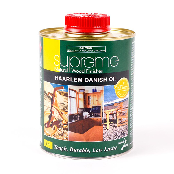 supreme haarlem danish oil - 1L - New zealand made