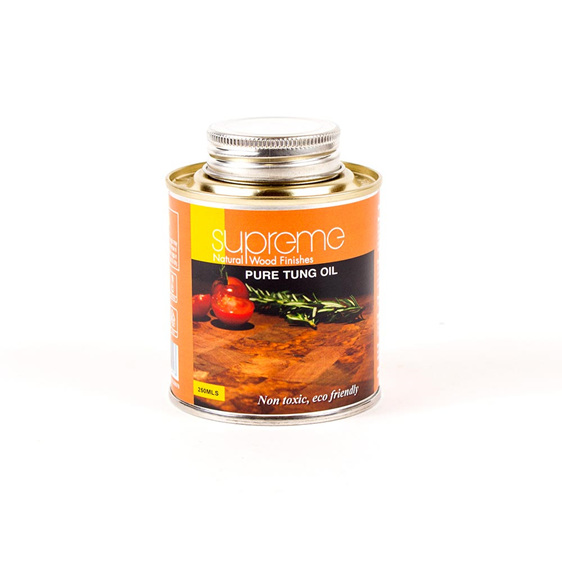 supreme pure tung oil - 250ml - new zealand made