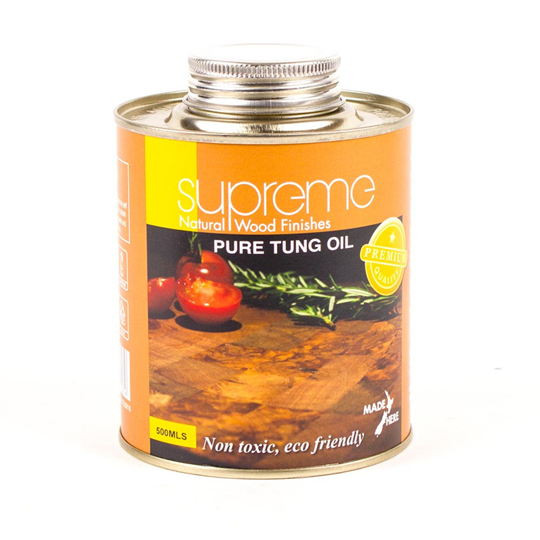 supreme pure tung oil - 500ml - made in new zealand