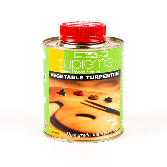 supreme vegetable turpentine - 500ml - new zealand made