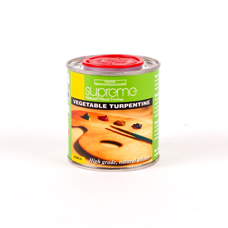 supreme vegetal turpentine - 250ml - new zealand made