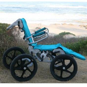Surf N Turf Beach Wheelchair (Coming soon, Price TBA)