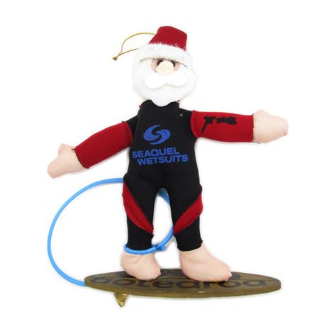 Surfer kiwiana Christmas decoration