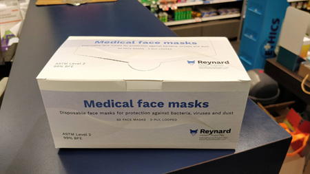 Surgical Masks 50 Pack Box