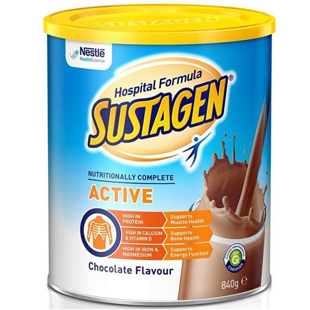 SUSTAGEN HOSPITAL ACTIVE CHOCOLATE 840G