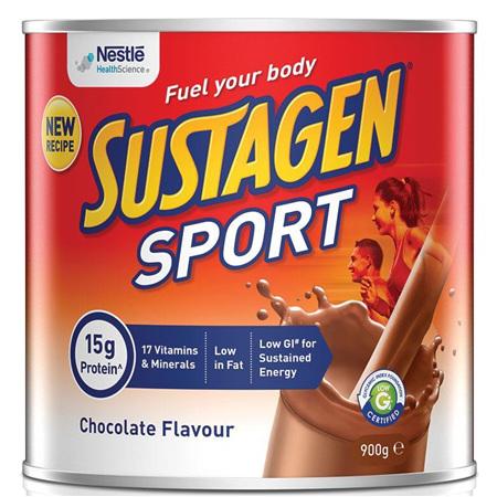 SUSTAGEN SPORT CHOCOLATE 900GM
