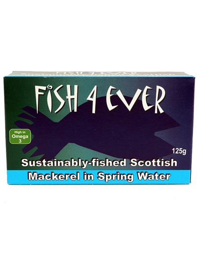 Sustainably Fished Scottish Mackerel - 125g