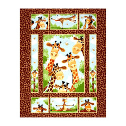 Susy Bee Giraffe Panel
