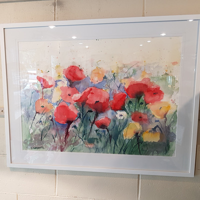 Suzanne Connell 'Pray For Me Poppies