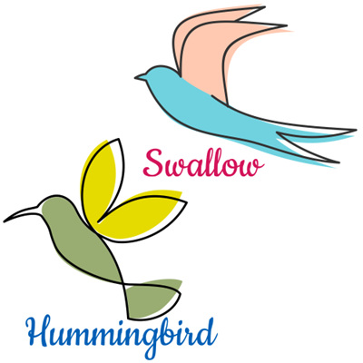 Swallows & Hummingbirds