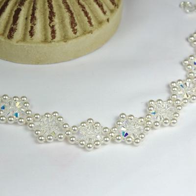 Swarovski Crystal & Pearl Bracelets