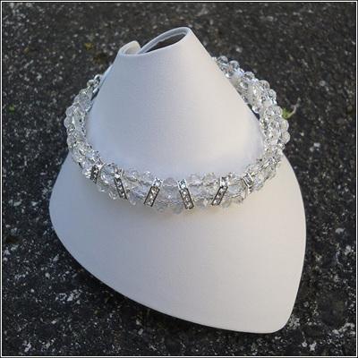 Swarovski Crystal Rondelle Bracelets