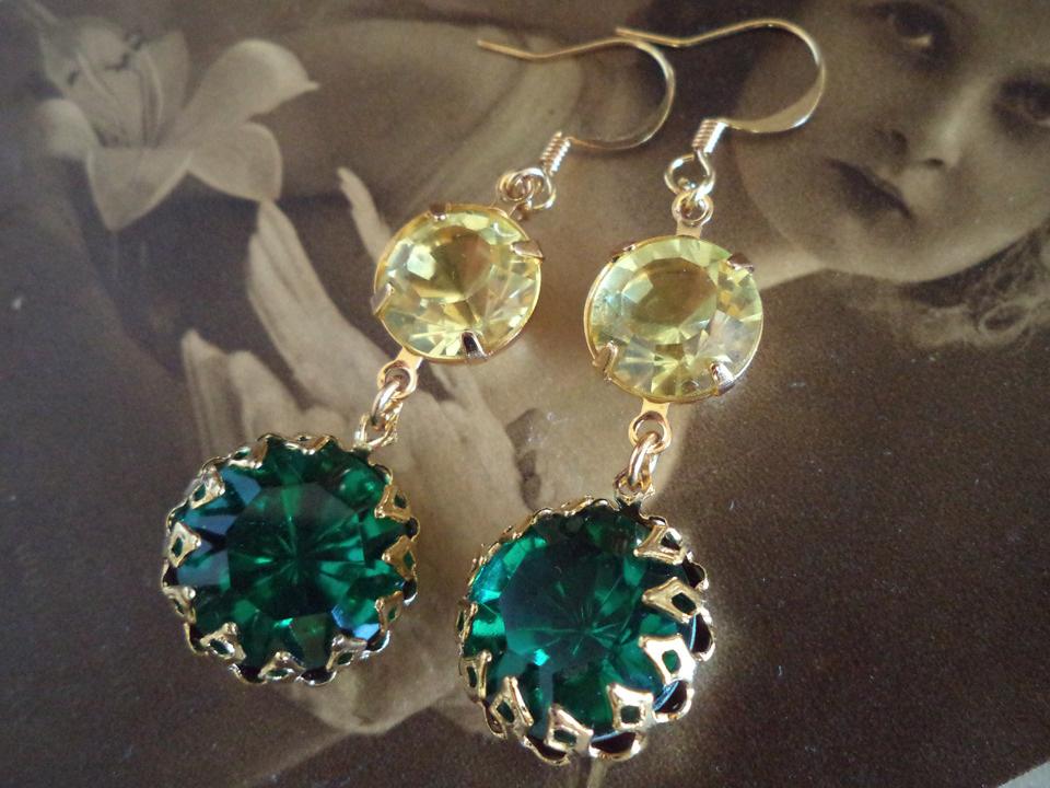 01604795d14b4 Swarovski crystal vintage rhinestone earring