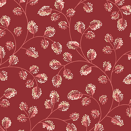 Sweet 16 Cotton Burgundy A-9581-R1