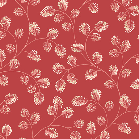 Sweet 16 Cotton Red A-9581-R