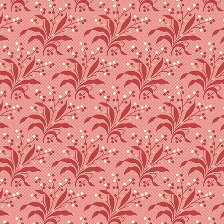 Sweet 16 Fern Red A-9580-R