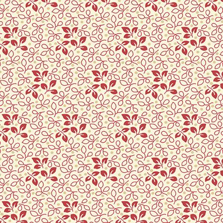 Sweet 16 Leaf Red A-9585-R