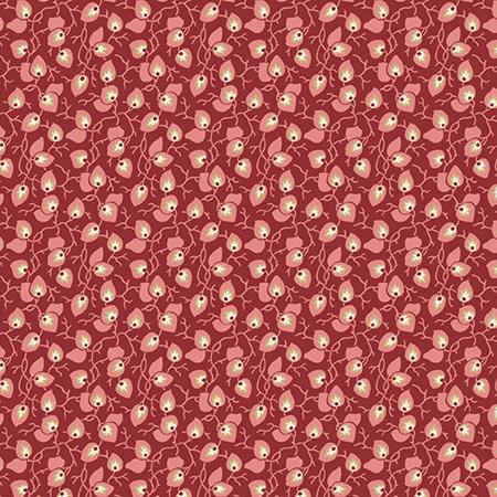 Sweet 16 Vine Burgundy A-9582-R1