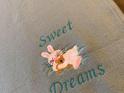 Sweet Dreams Bunny Baby Blanket