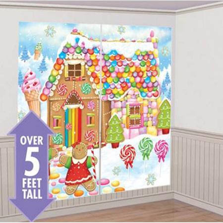 Sweet Holiday Christmas Scene Setter