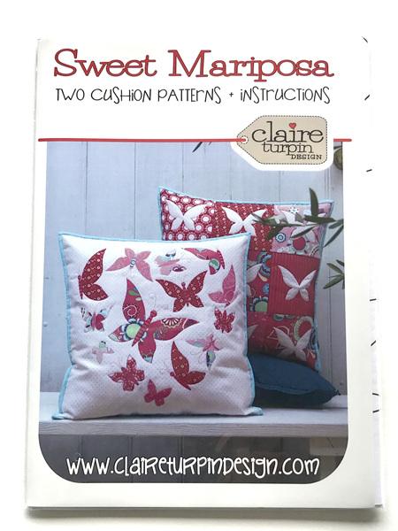Sweet Mariposa Cushion Patterns